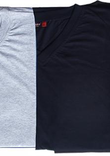 Прості чоловічі футболки великих розмірів