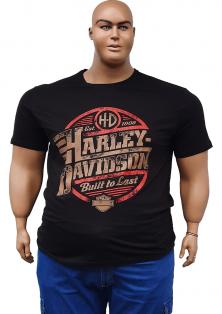 великого розміру чоловіча футболка HARLEY DAVIDSON