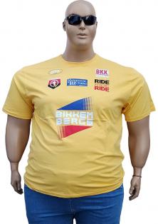 BIKKEMBERGS чоловічі спортивні футболки великих розмірів