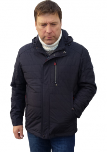 SAZ демисезонная мужская куртка с капюшоном большого размера