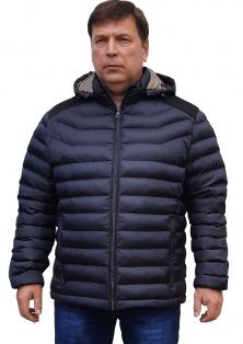 Santoryo батального розміру осіння куртка з капюшоном