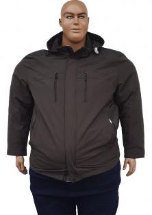 Великого розміру осіння куртка з капюшоном Dekons