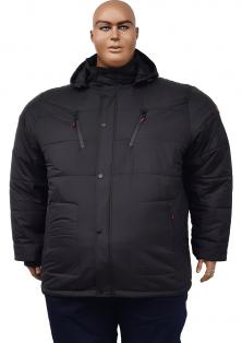 зимова куртка Dekons великого розміру з капюшоном