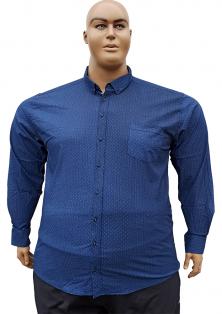 Bettino стрейчевые рубашки на полных мужчин