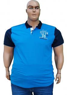 GRAND LA VITA сорочка поло великого розміру